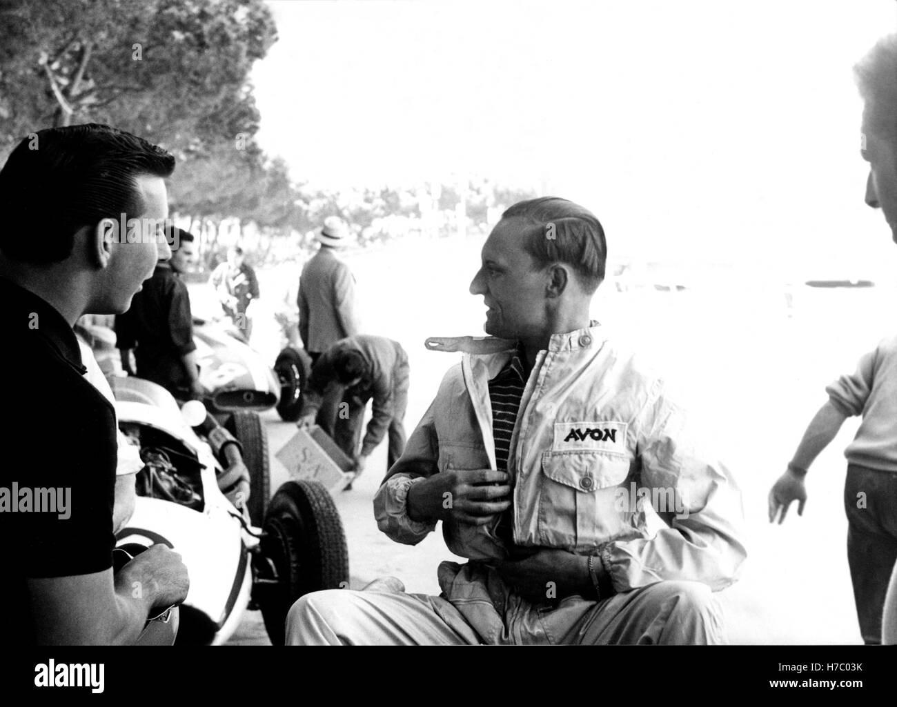 Bernie Ecclestone 1958 Monaco - Stock Image