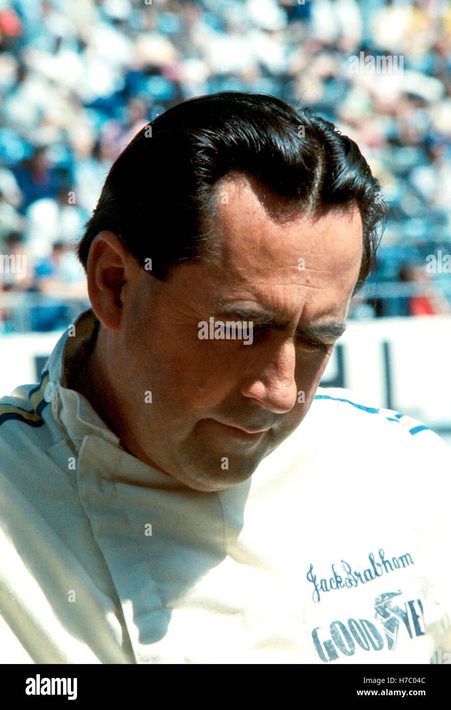 Jack Brabham Monaco - Stock Image