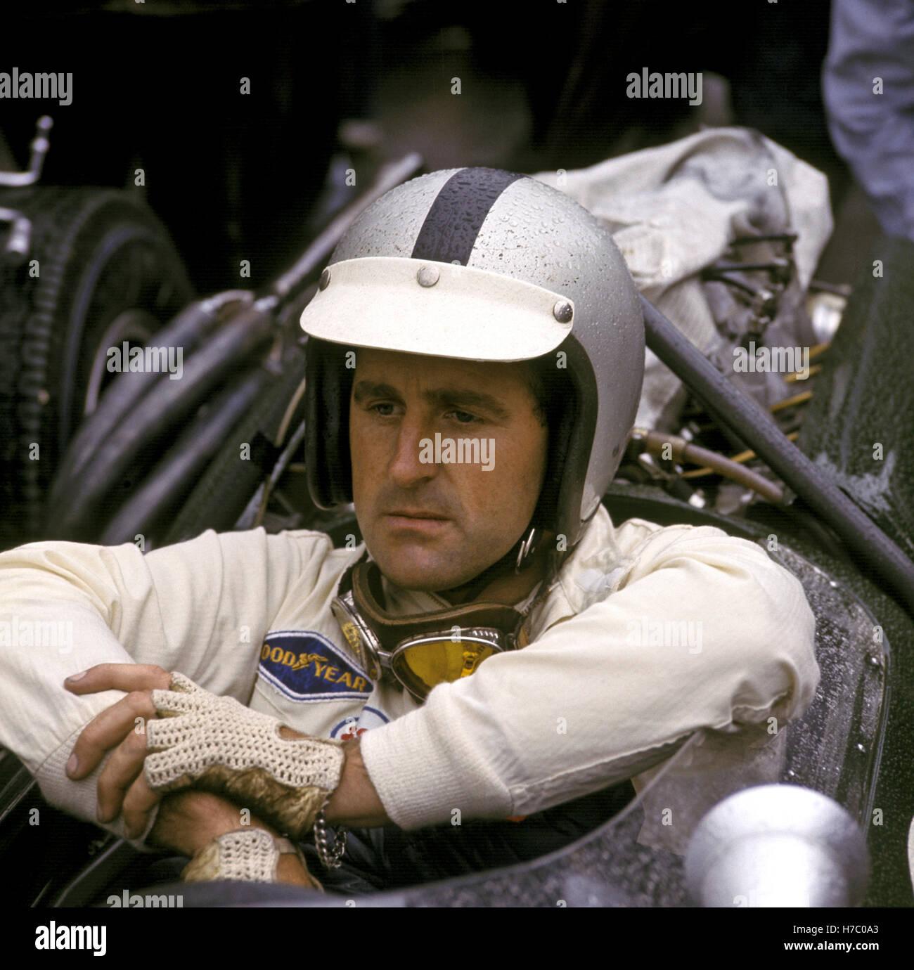 Jack Brabham - Stock Image