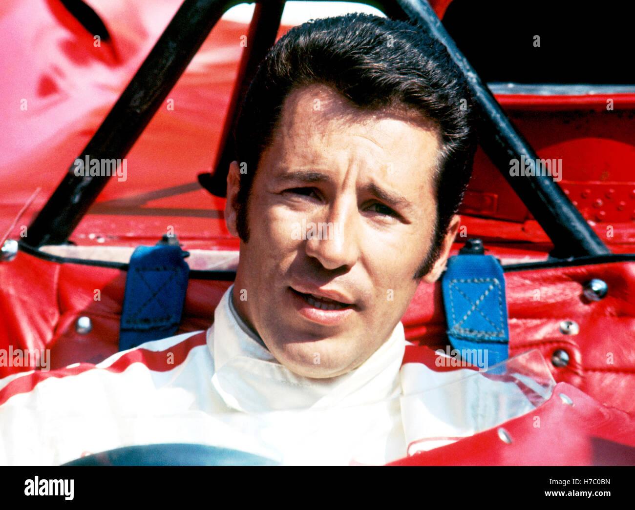 Mario Andretti 1969 Ferrari 312P - Stock Image