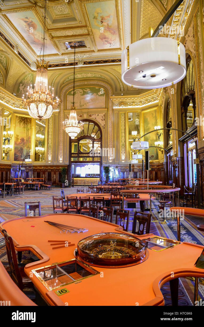 Casino De Monte Carlo >> Interior Of Casino De Monte Carlo Monaco Stock Photo