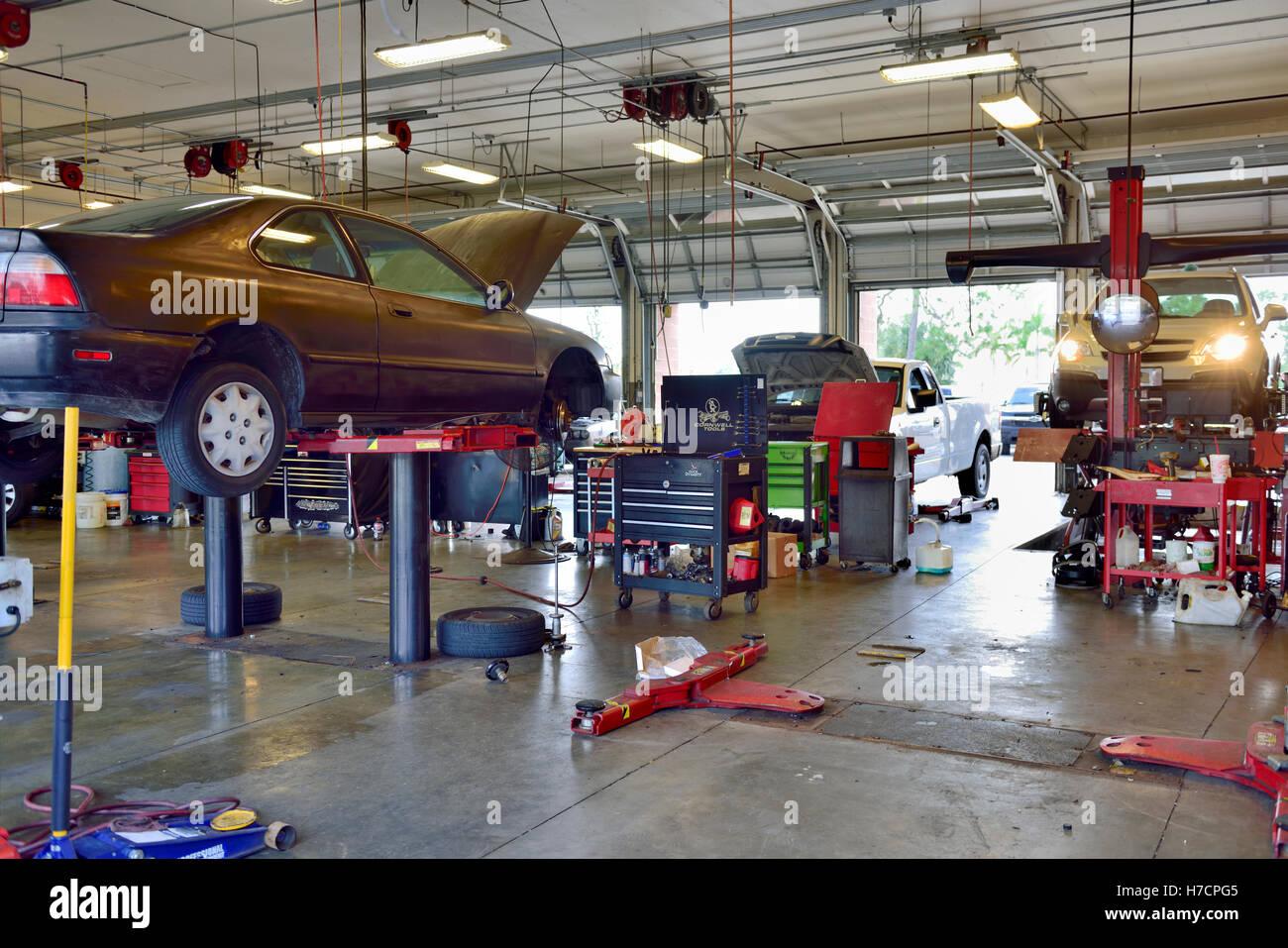 Firestone Complete Auto Care Garage Cape Coral Fl Stock Photo