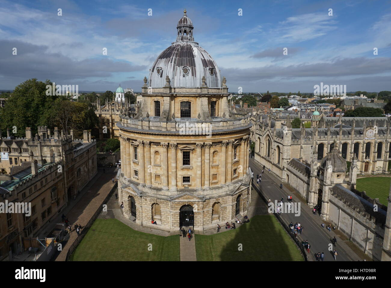 Oxford University Radcliffe Camera library building - Stock Image