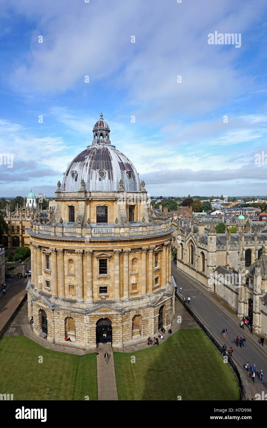 Oxford University Radcliffe Camera library - Stock Image
