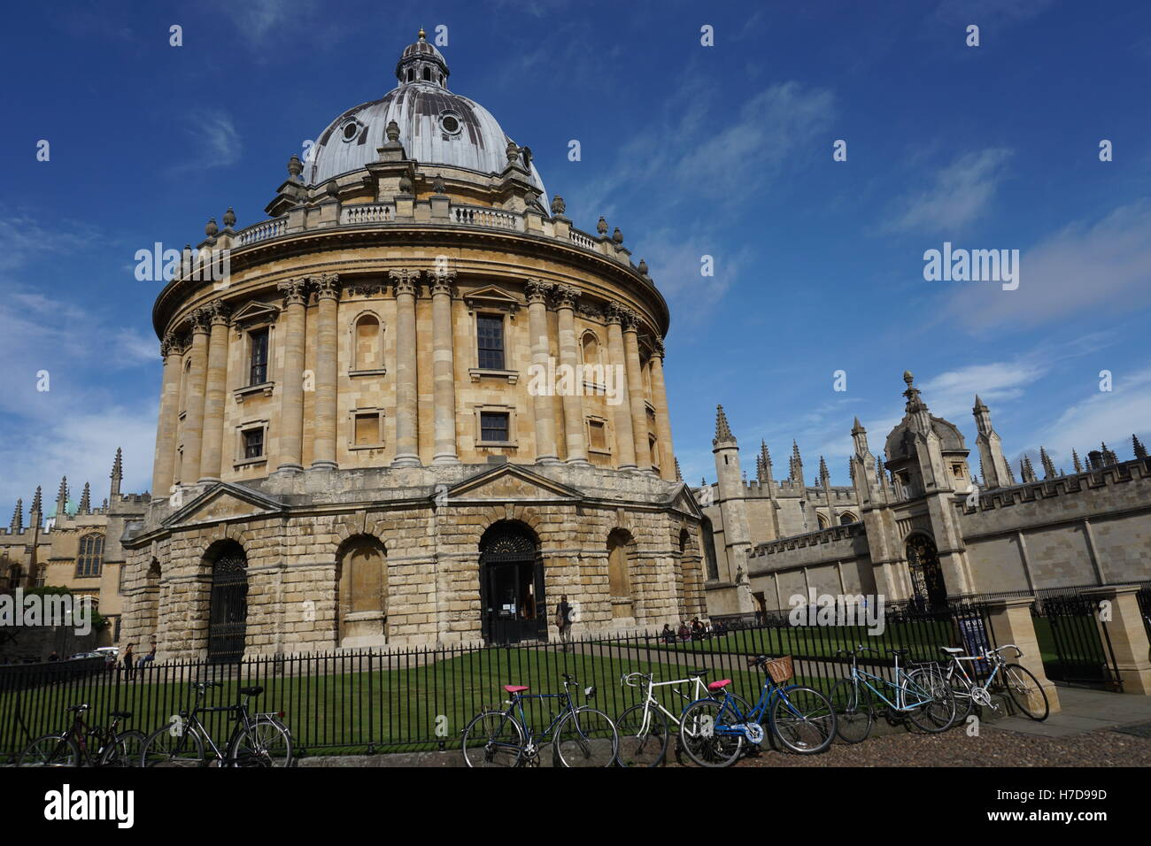 Oxford University Radcliffe Camera - Stock Image