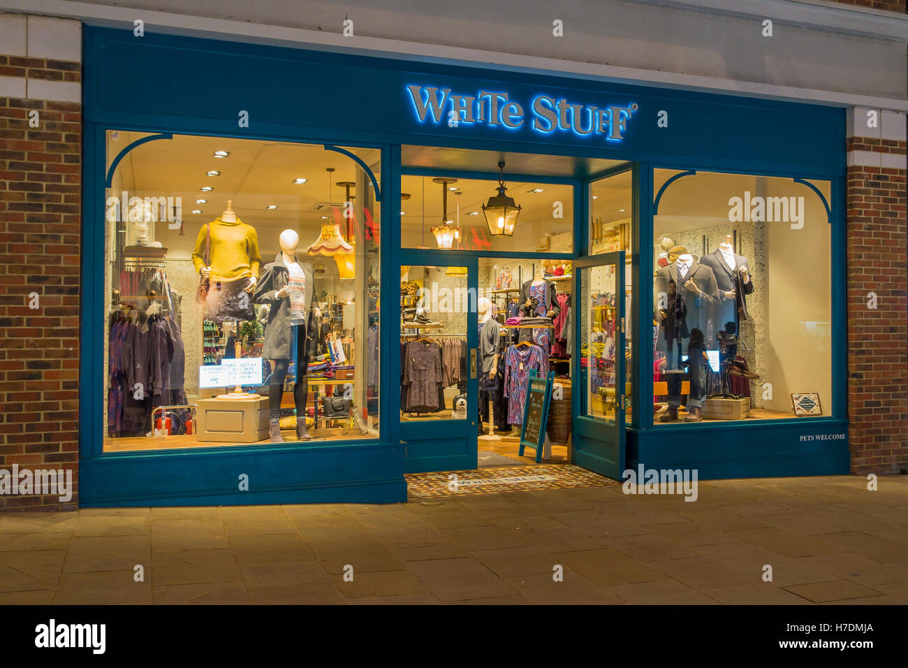 White Stuff Fashion Store Whitefriars Shopping Centre Canterbury Kent UK - Stock Image