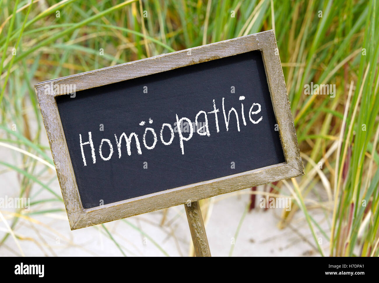 homeopathy - Stock Image