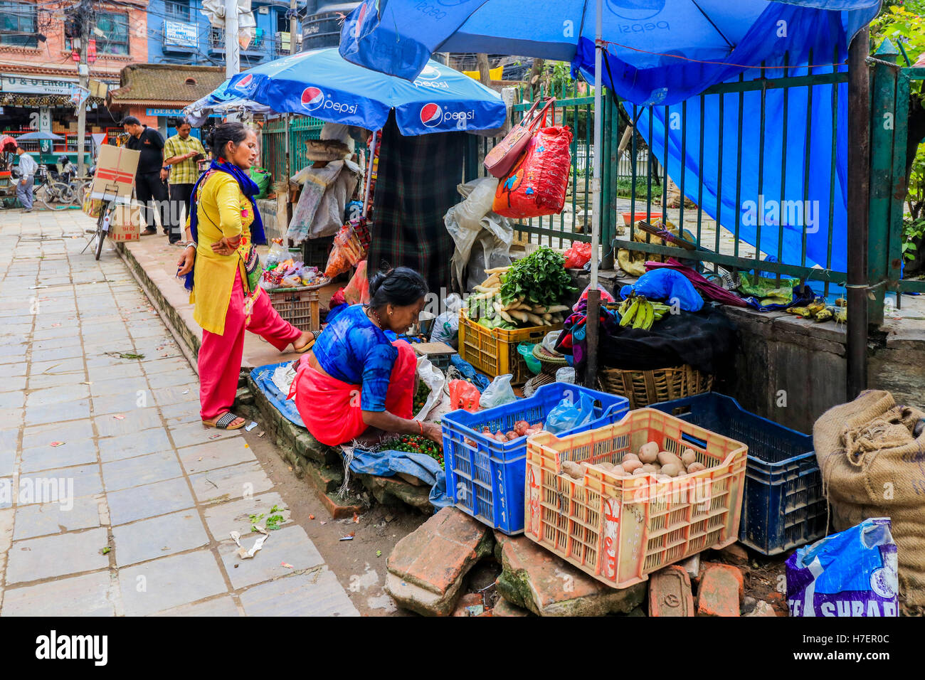 Trade In Nepal Stock Photos & Trade In Nepal Stock Images - Alamy