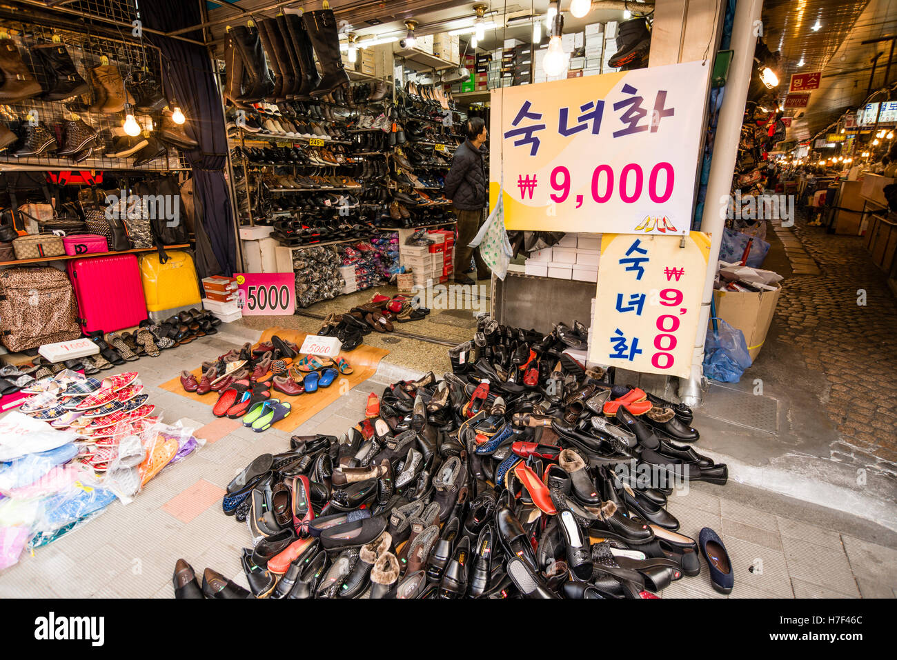 Shoe shop selling very cheap shoes (approx  8.00 per pair ... 583637a2b774