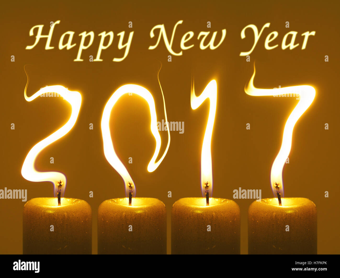 New Year Greetings Card Stock Photos New Year Greetings Card Stock