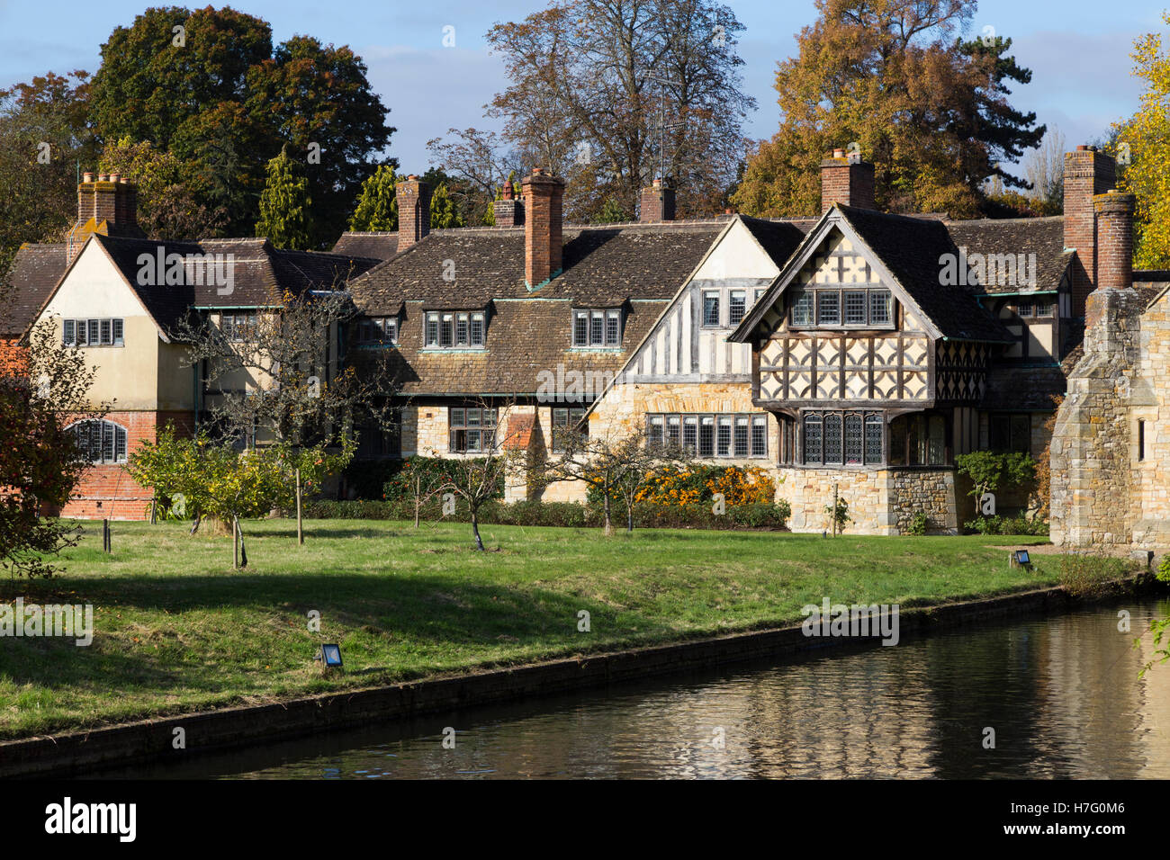 Accommodation wing for holiday / bed and breakfast guests at Hever Castle in Kent (available in Astor and Anne Boleyn - Stock Image
