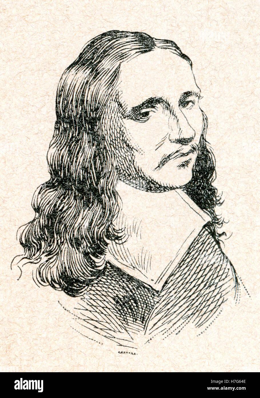 Allaert van Everdingen, 1621 – 1675.  Dutch Golden Age painter and printmaker in etching and mezzotint. - Stock Image