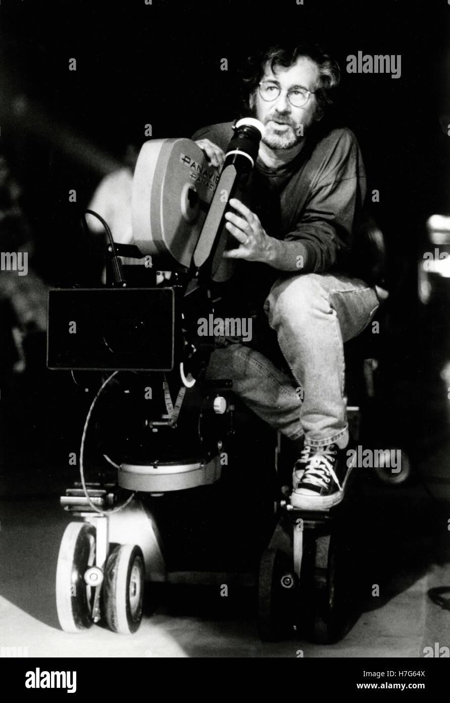 Movie director Steven Spielberg, USA - Stock Image