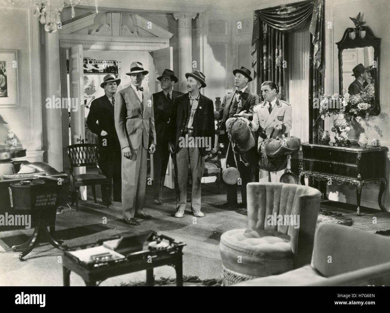 Actor Gary Cooper in the movie Meet John Doe, USA 1941 - Stock Image