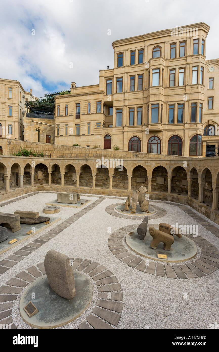 View of Baku old town, capital of Azerbaijan - Stock Image