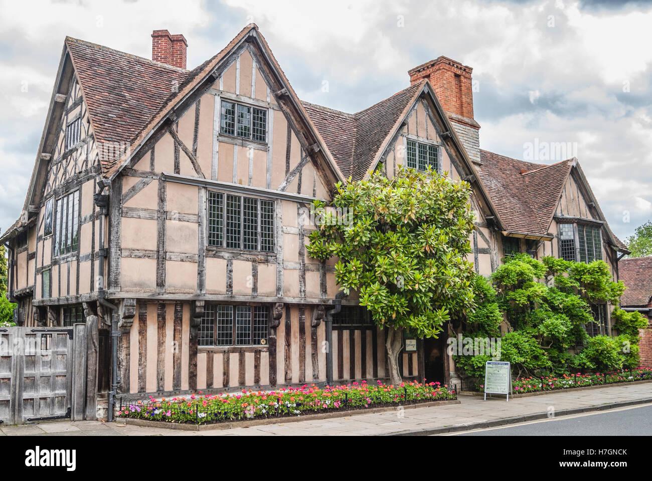 Hall's Croft, Stratford upon Avon, Warwickshire, England - Stock Image