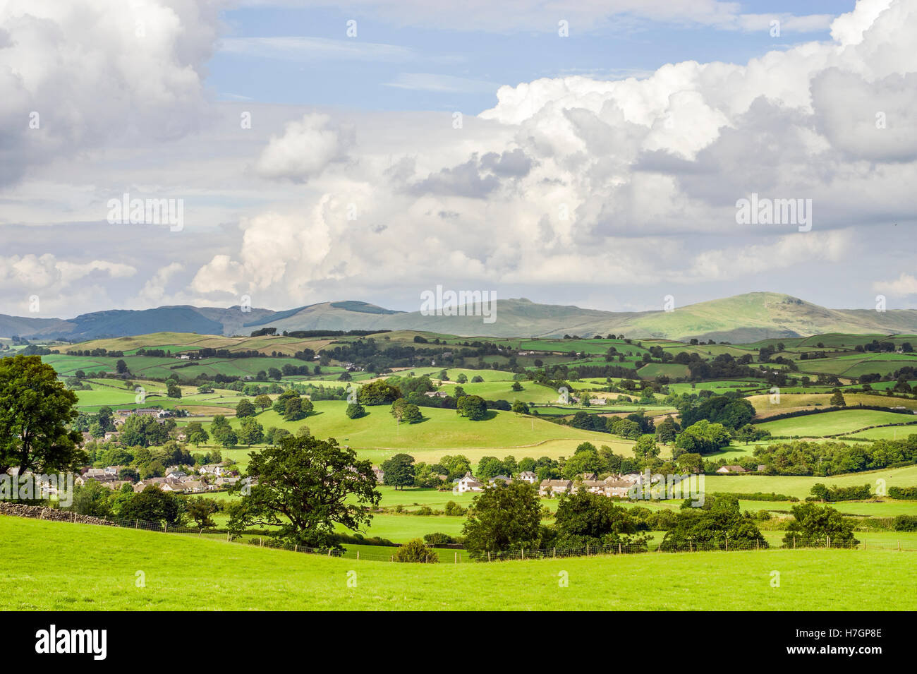 Landscape at the Lake District, also known as 'The Lakes' or Lakeland, North West England. - Stock Image