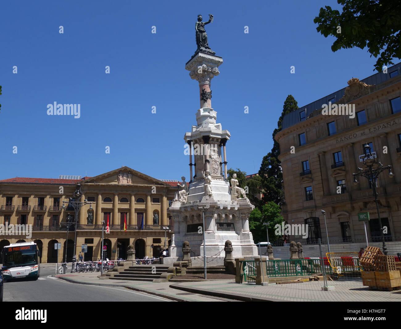 Pamplona in Navarre provence Spain Stock Photo