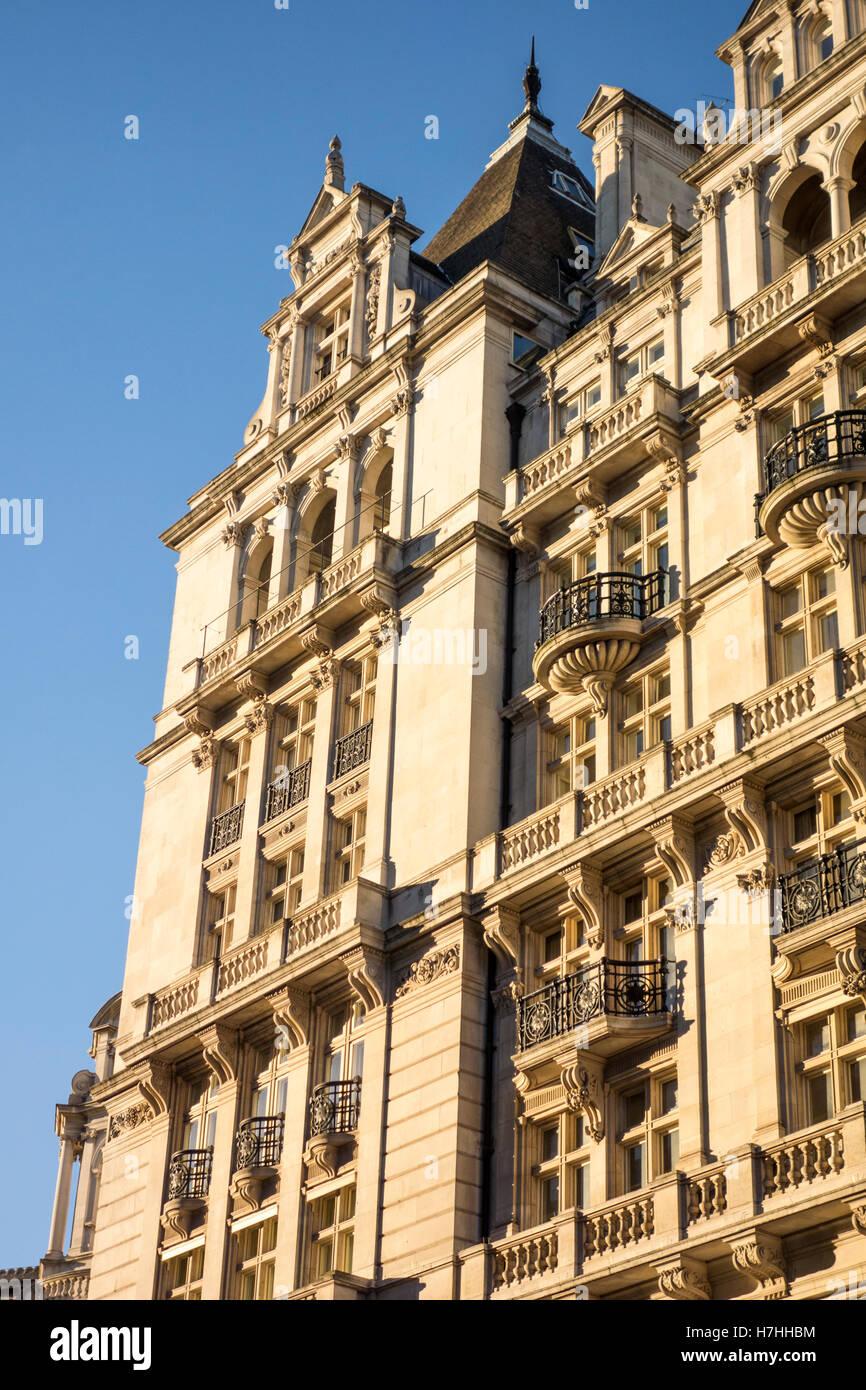 Whitehall Court, Westminster, London, UK - Stock Image