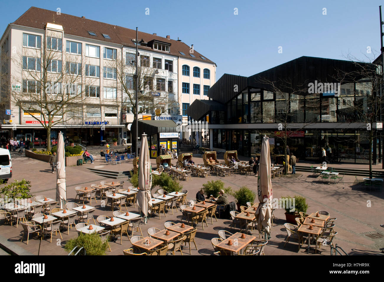 alter markt square state capital of kiel schleswig holstein stock photo 125166662 alamy. Black Bedroom Furniture Sets. Home Design Ideas