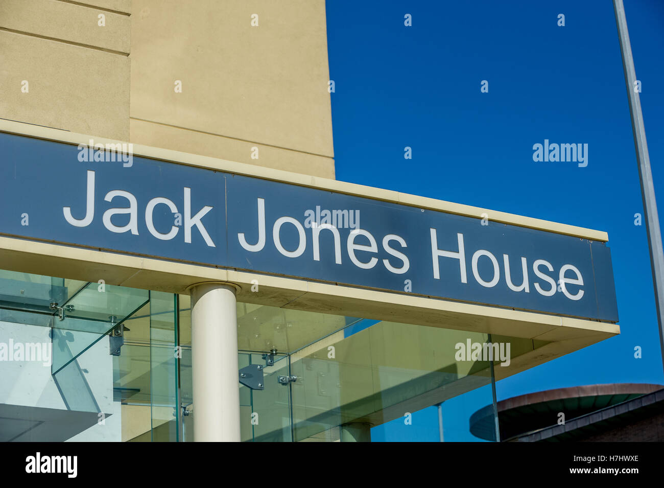 Jack Jones House, regional HQ for Unite the Union, Liverpool - Stock Image