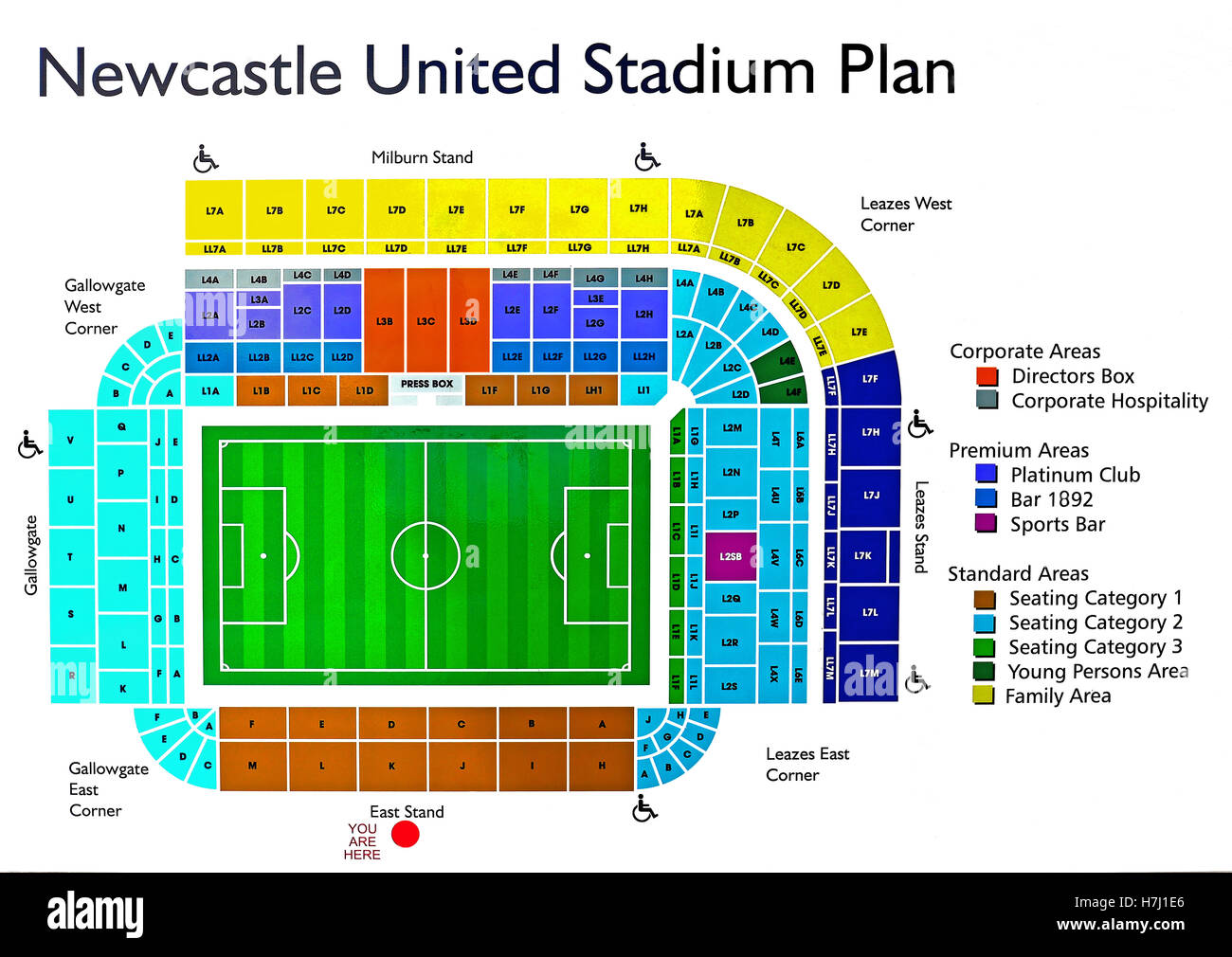 Download Manchester United Stadium Layout