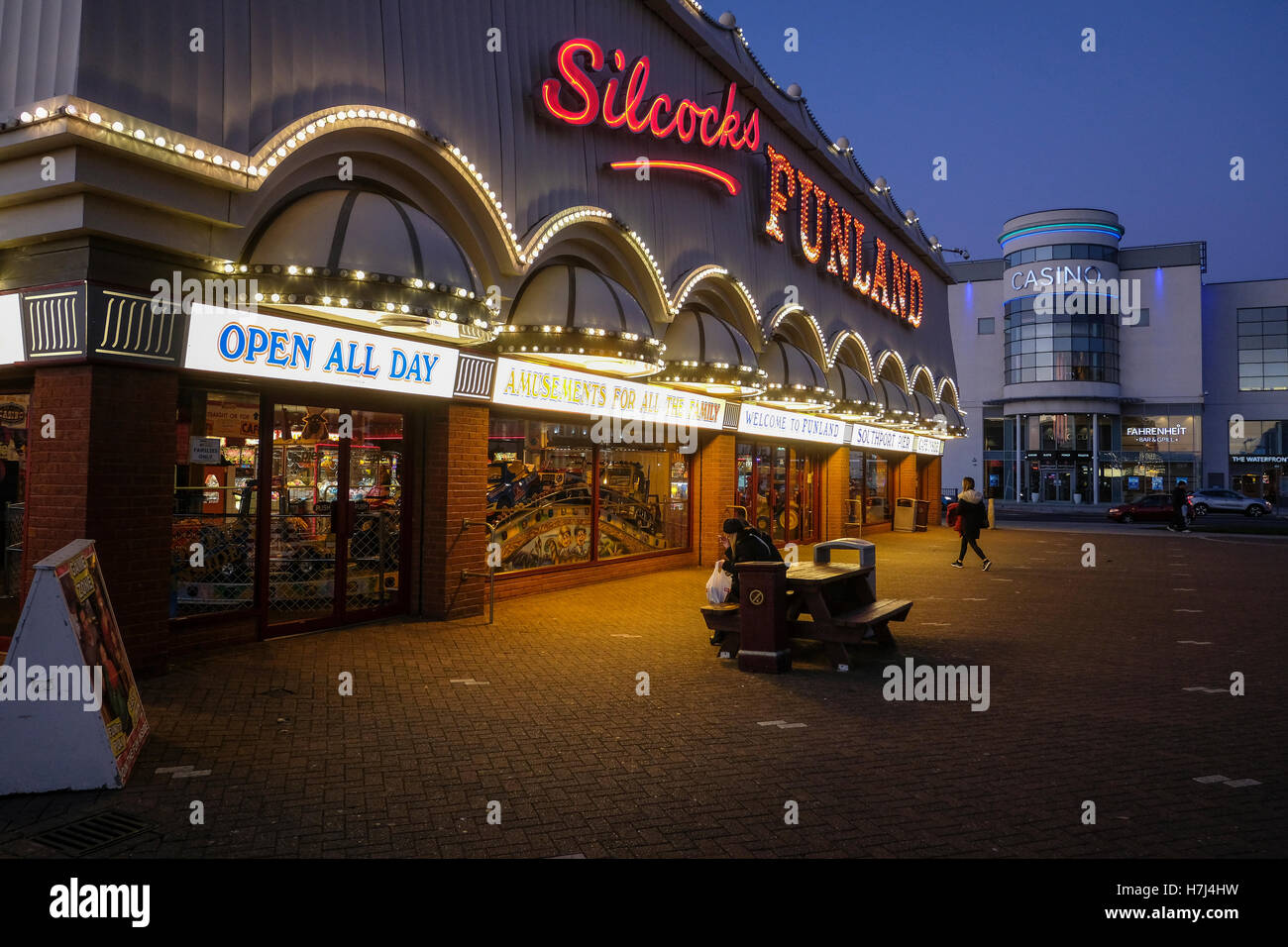 Southport Arcade - Stock Image