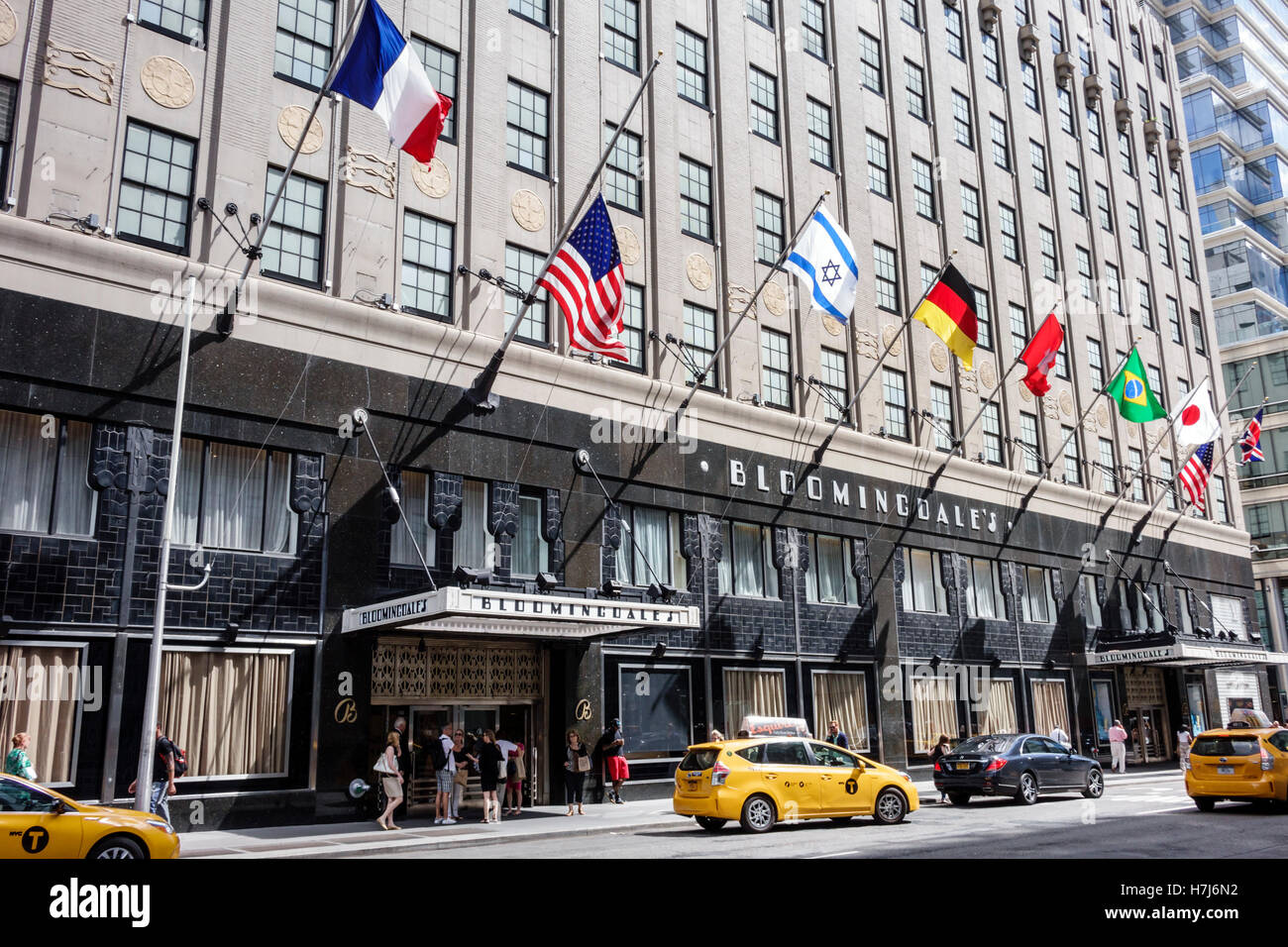 Manhattan New York City NYC NY Upper East Side Bloomingdales Third Avenue 59th Street And Lexington