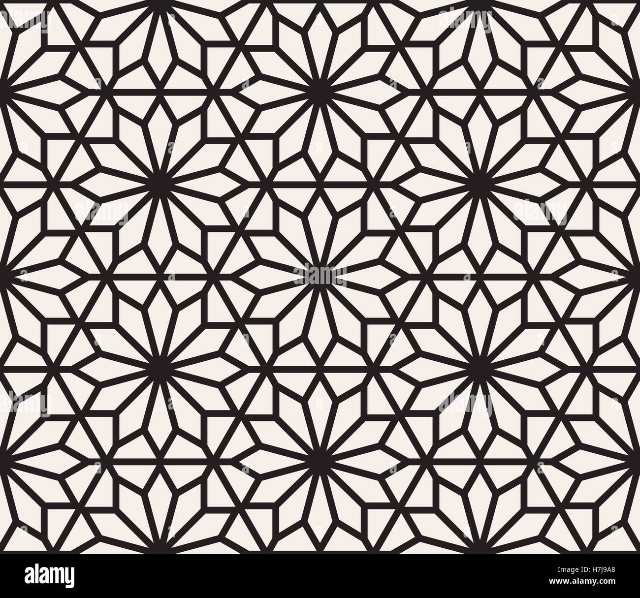 Vector Seamless Black And White Geometric Hexagon Lines Pattern Stock Vector Image Art Alamy,Pid Controller Design Tuning Parameters And Simulation For 4th Order Plant