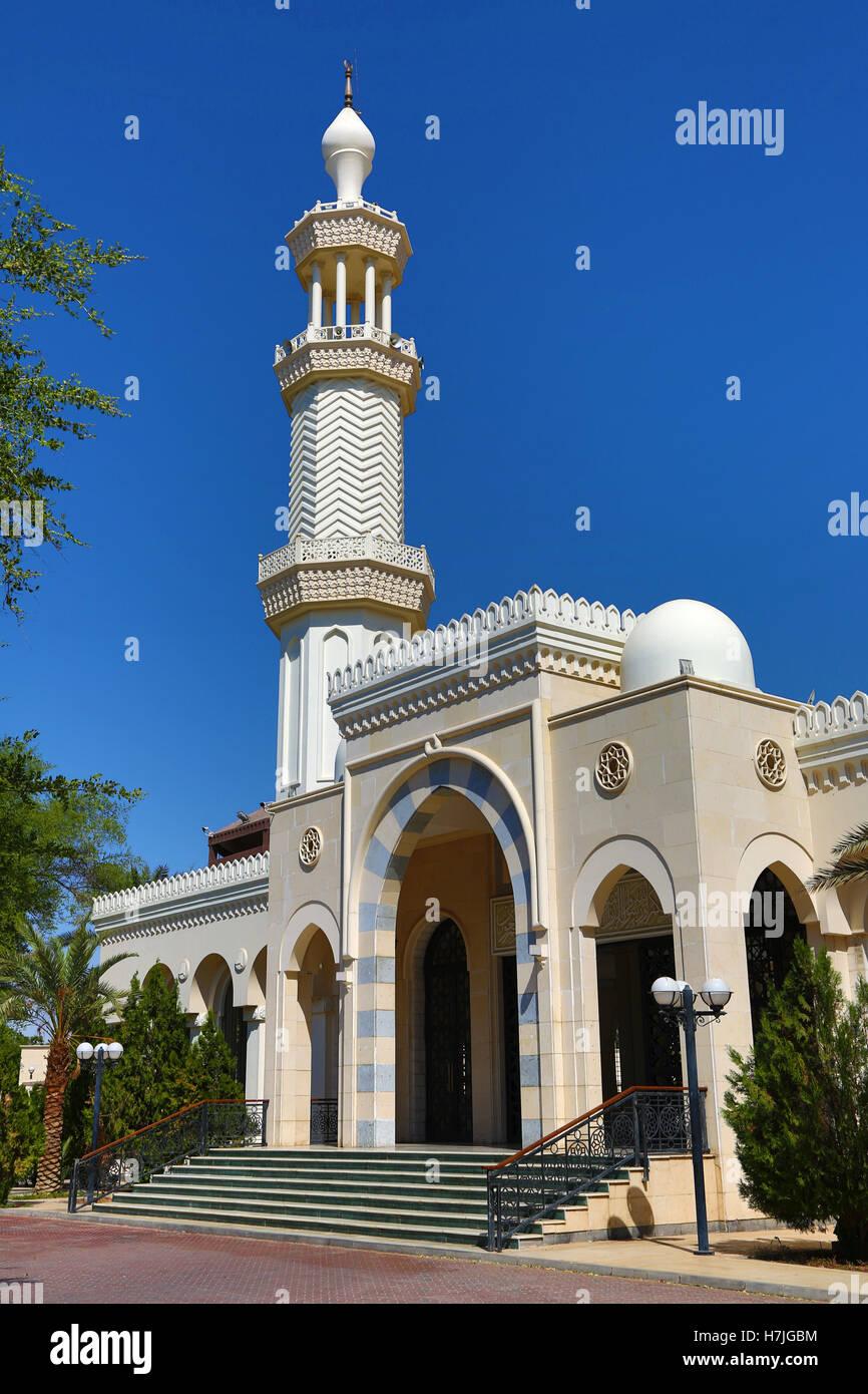 Al-Sharif Al Hussein Bin Ali Mosque in Aqaba, Jordan - Stock Image