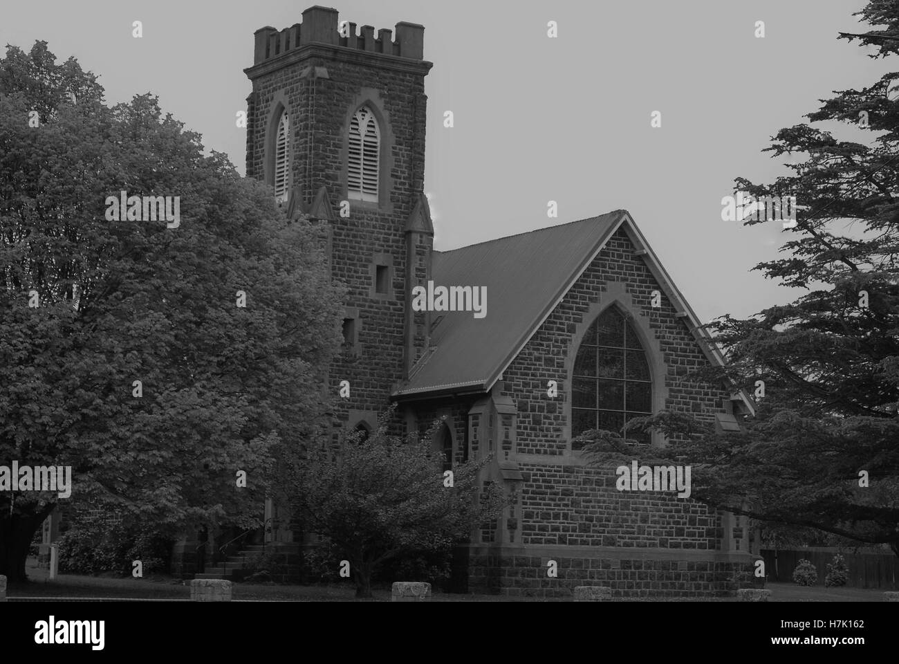 Holy Trinity Church - Stock Image