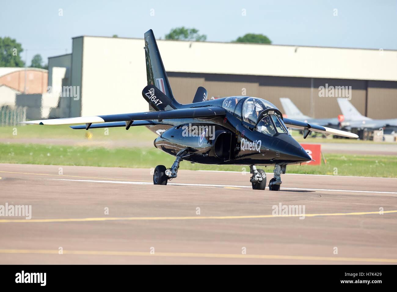 Qinetiq Alpha Jet. - Stock Image