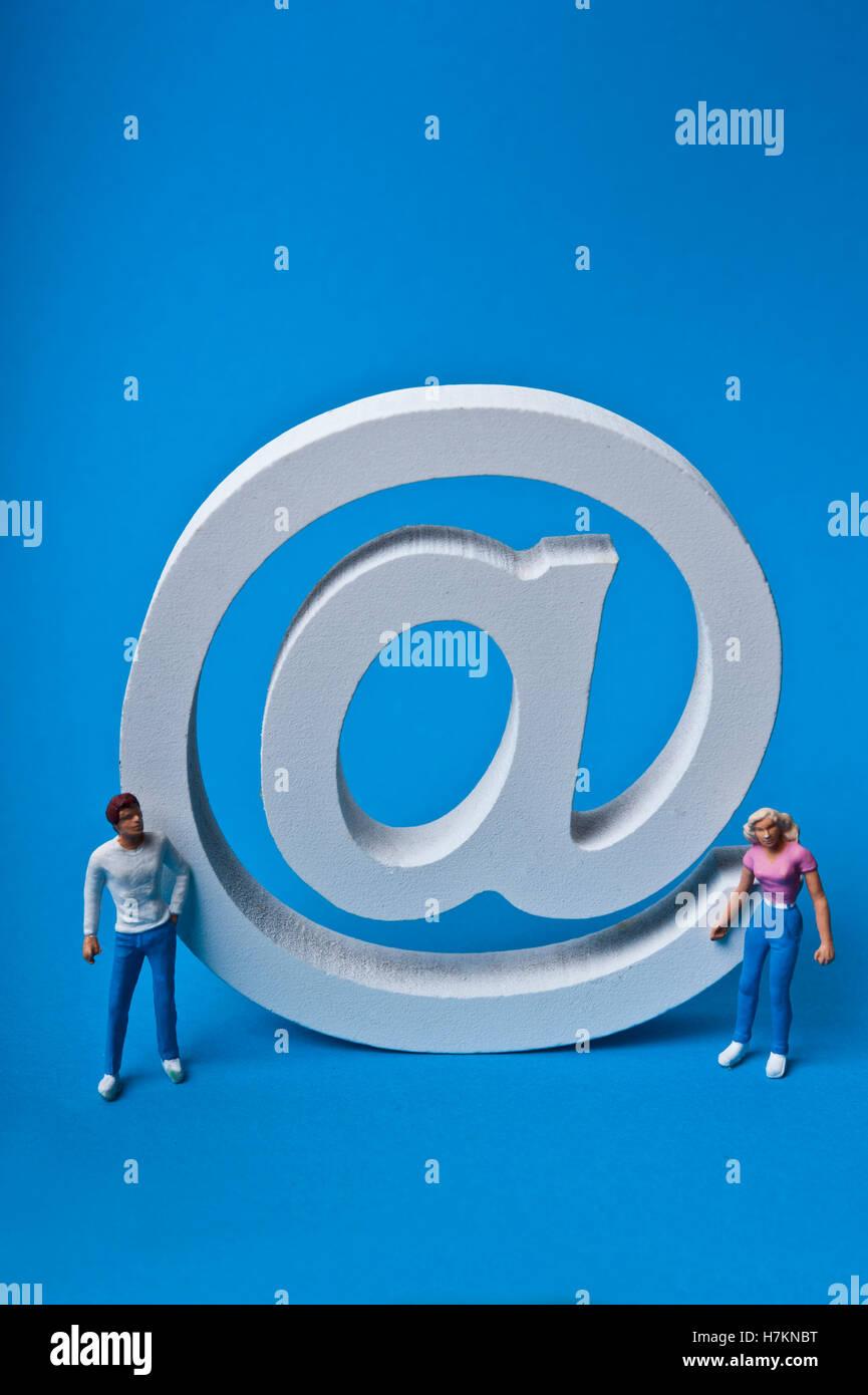 e-mail concept - Stock Image