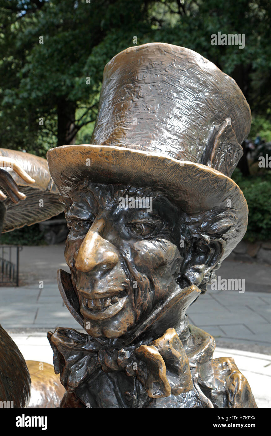 Close up of the Mad Hatter on