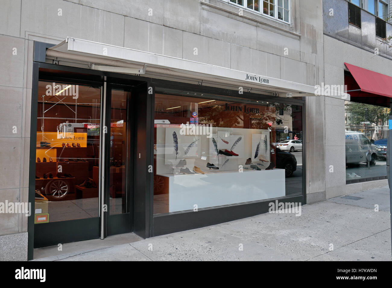 John Lobb Shoes >> The John Lobb designer shoe store in Manhattan, New York City, United Stock Photo: 125212241 - Alamy