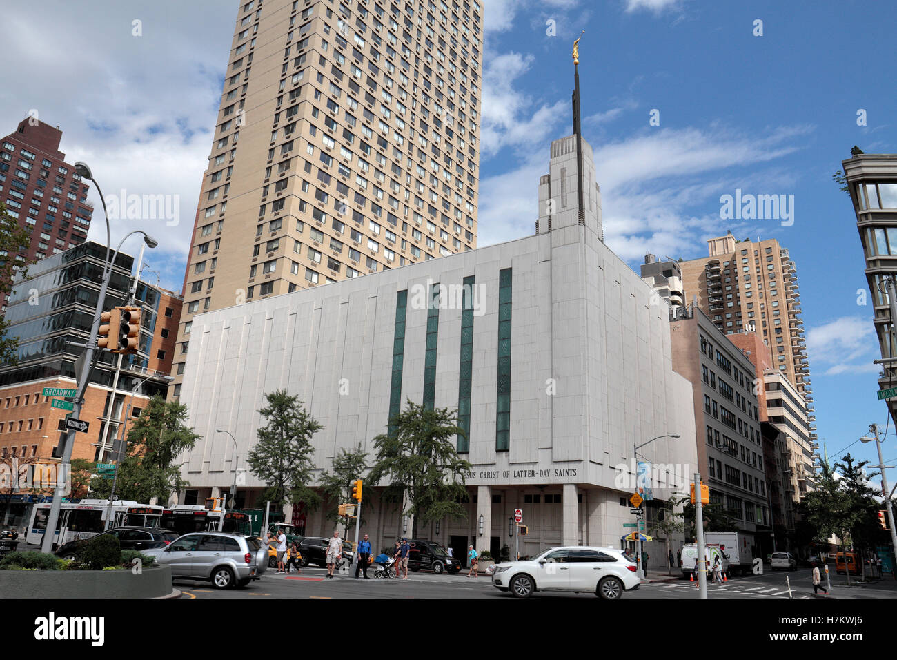 The Manhattan Lds Temple Of The Church Of Jesus Christ Of Latter Day