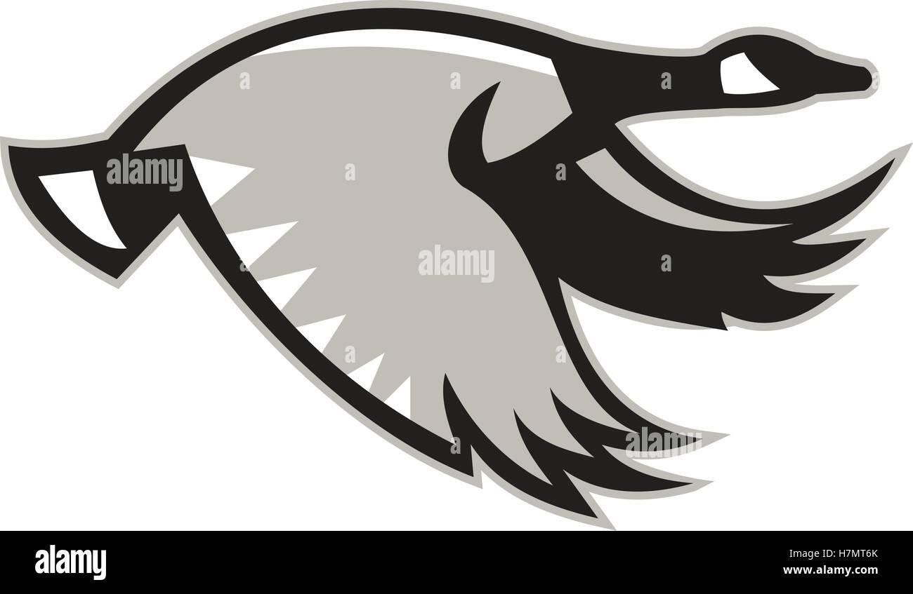 canada goose logo side