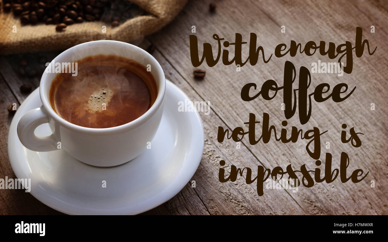 Monday Coffee Quotes High Resolution Stock Photography And Images Alamy