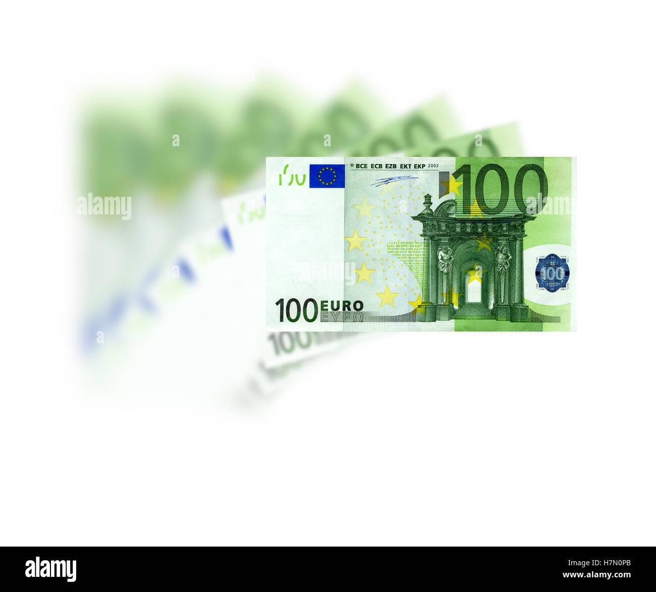 euro 100 - Stock Image