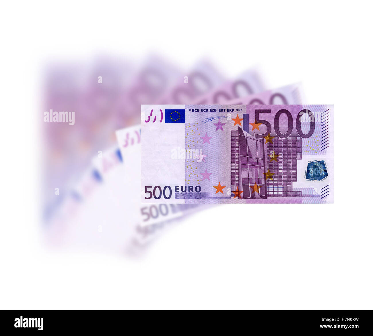 euro 500 - Stock Image