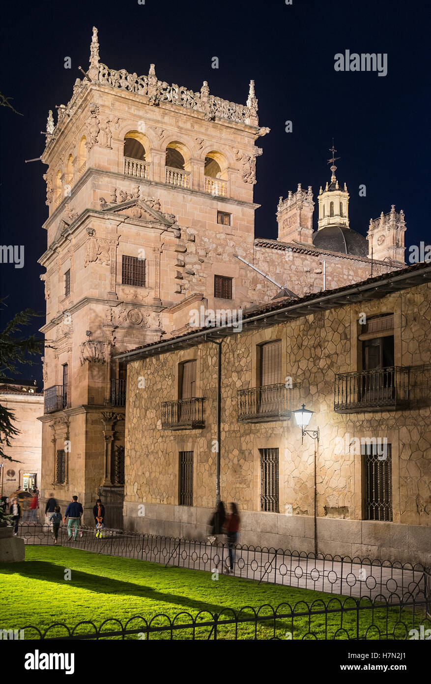 The Palacio de Monterrey  Salamanca, Spain. Stock Photo
