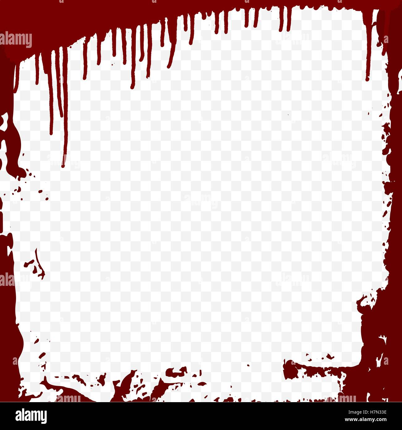 bloody frame template stock vector art amp illustration
