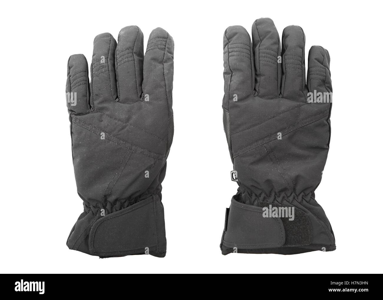 Gloves in pair - Stock Image