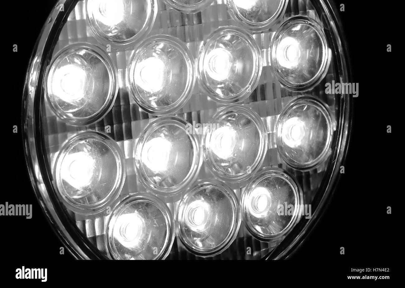 LED Spot Light - Stock Image
