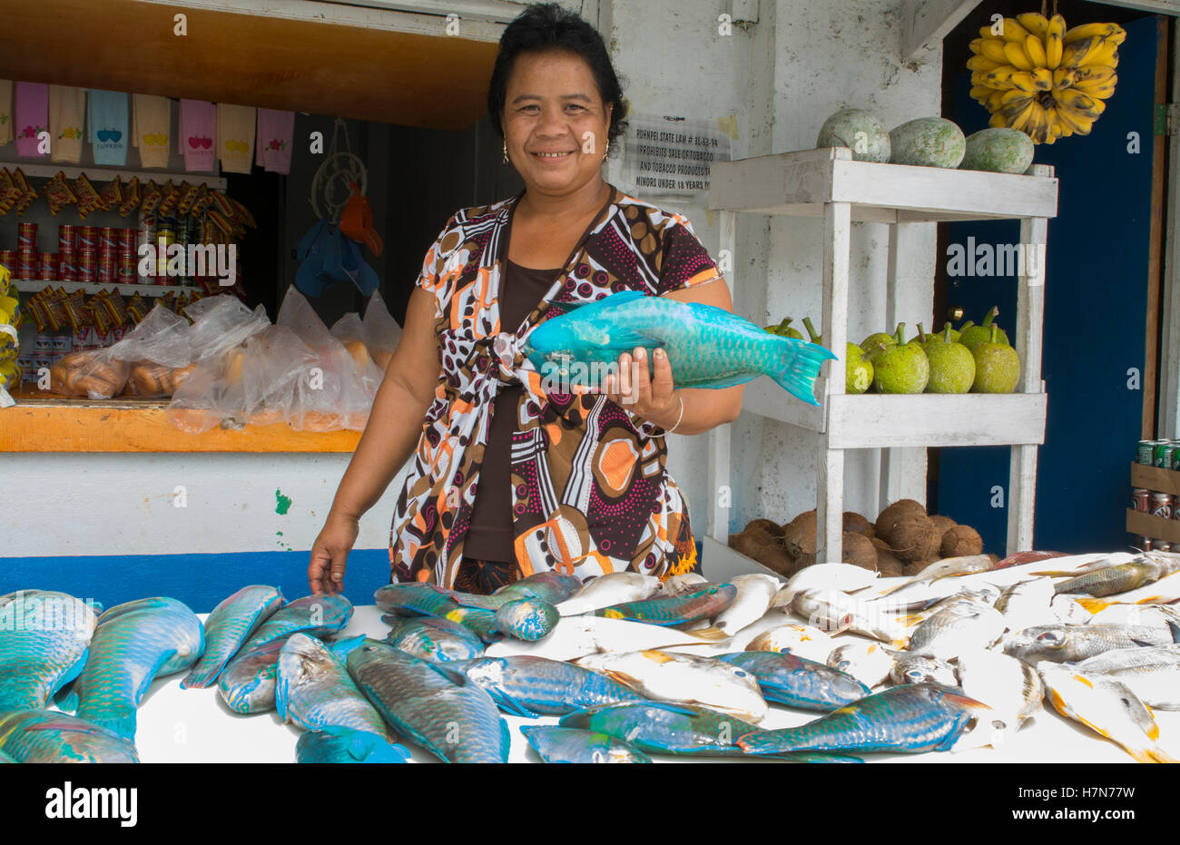 Pohnpei Market Stock Photos & Pohnpei Market Stock Images