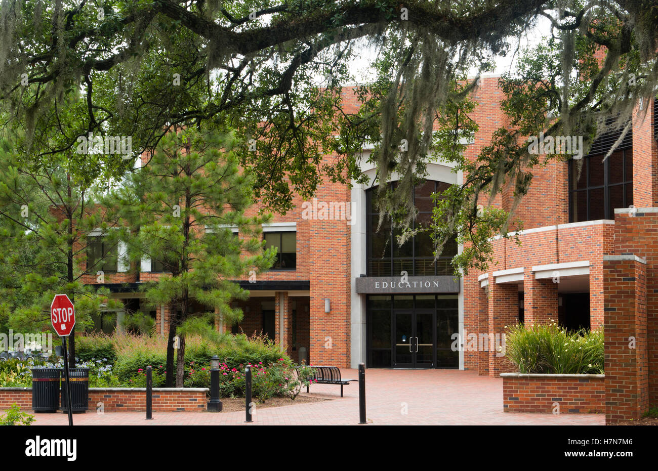 Tallahassee Florida FSU college of education University at Florida Sate University - Stock Image