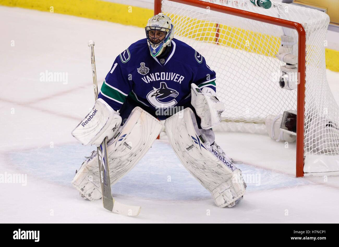 June 1 2011 Vancouver Bc Canada Vancouver Canucks Goalie