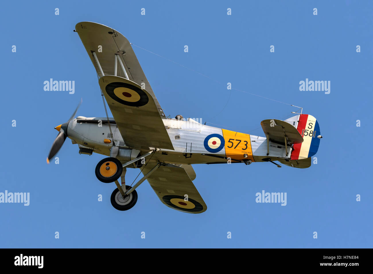 Hawker Hind series one - Stock Image