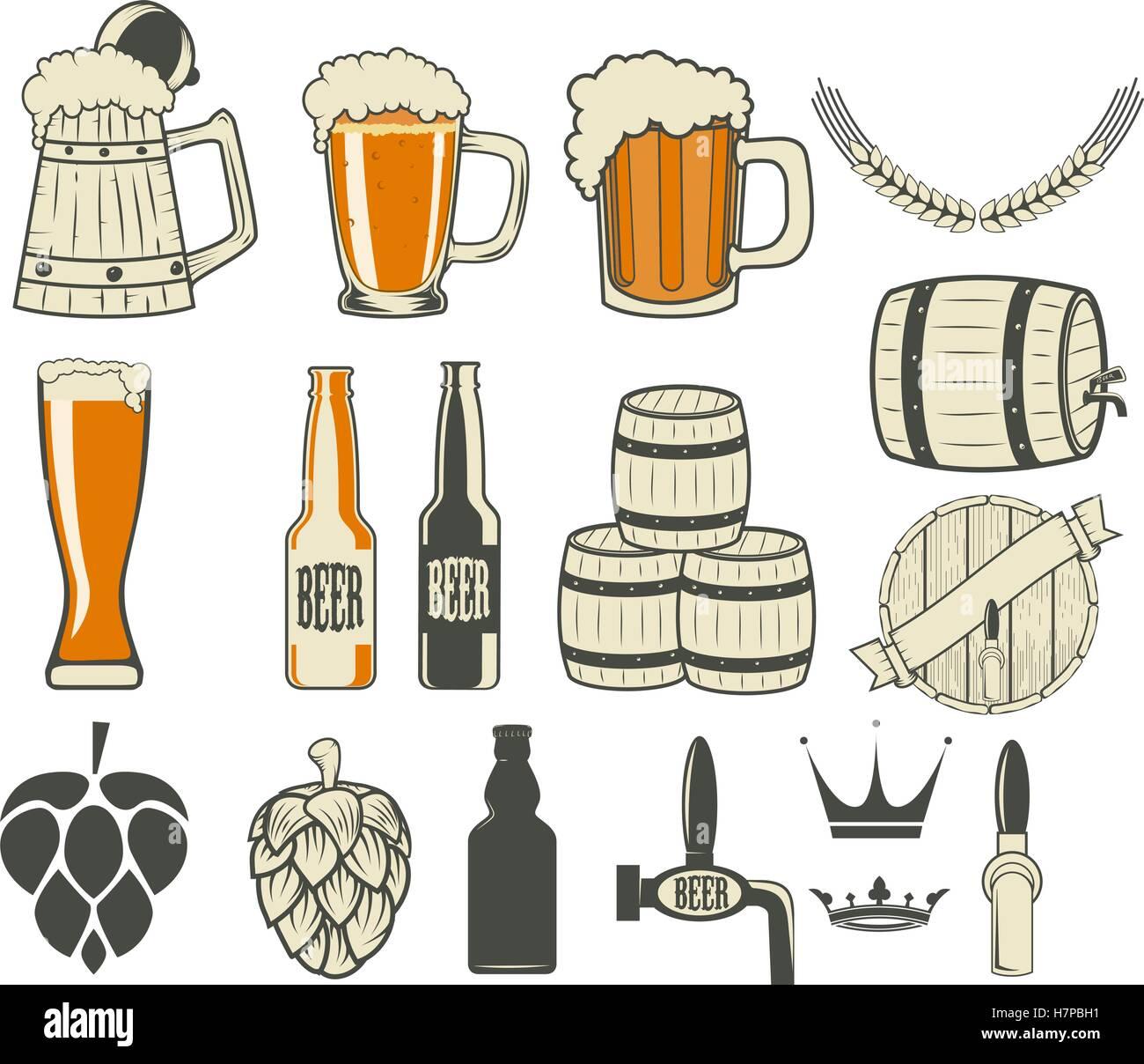 Beer Label Generator Stock Vector Art Illustration Image