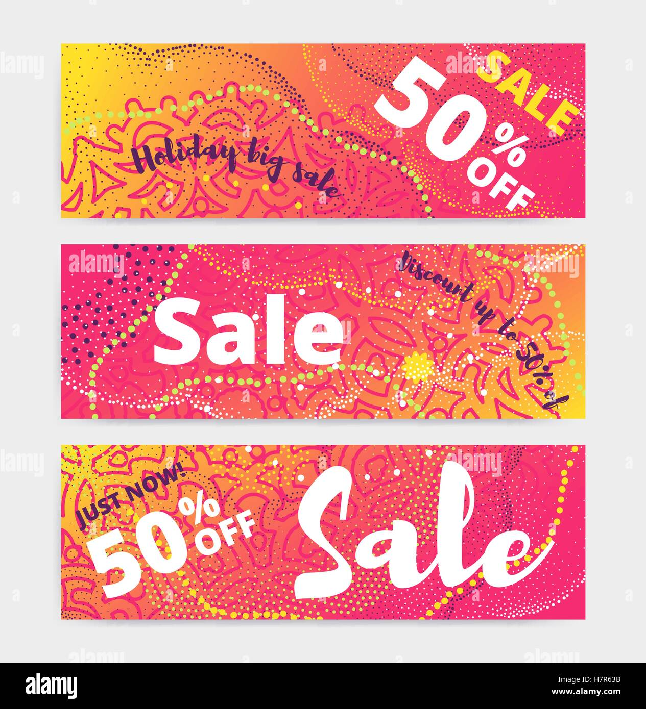 sale posters template